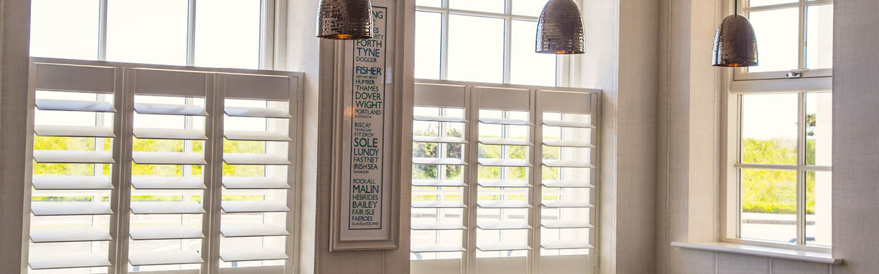 cafe style shutters from Shutterstyle