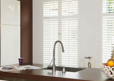 Full Height Shutters in a Kitchen