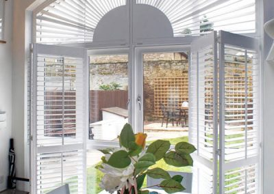 Shaped and French Door Shutters